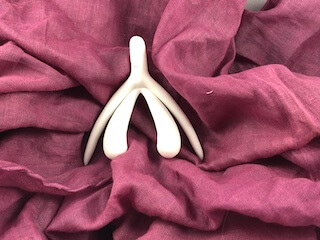 3D-Klitoris weiß